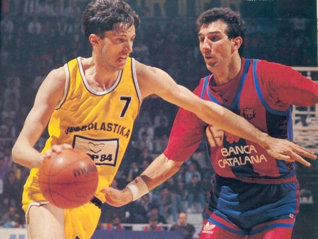 Toni Kukoc - NBA Stars In Europe