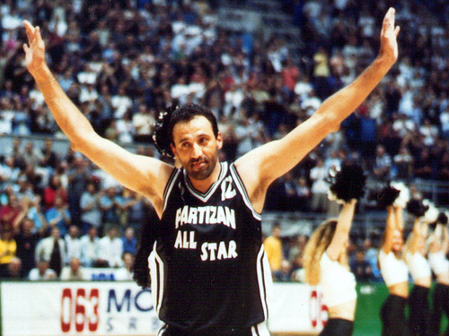 Vlade Divac - NBA Stars In Europe