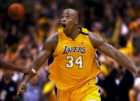 Shaquille O'Neal - Los Angeles Lakers