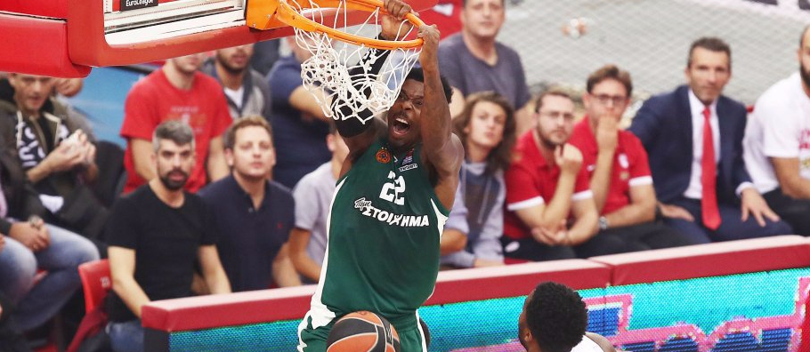 Euroleague round 6 - Kenny Gabriel Panathinaikos