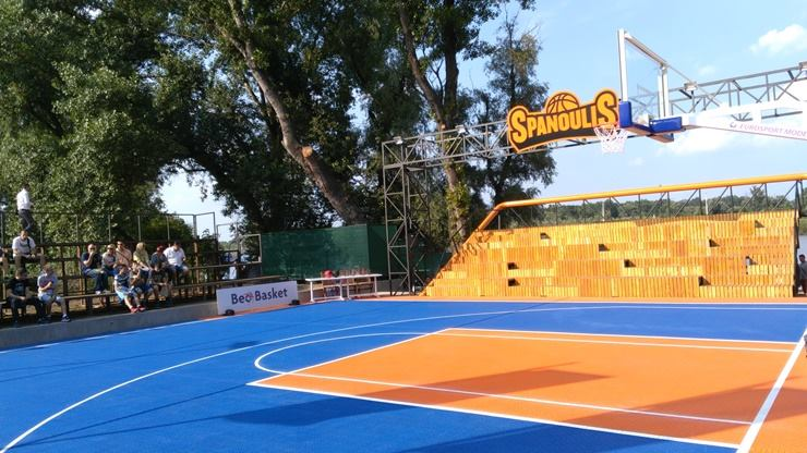 Spanoulis court - basketball court