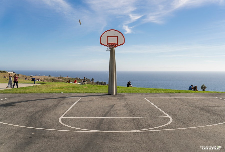 Basketball court - Angel's Gate Park