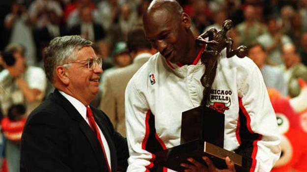 Michael Jordan stats MVP