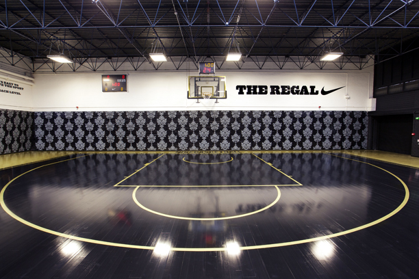 basketball court - the Regal