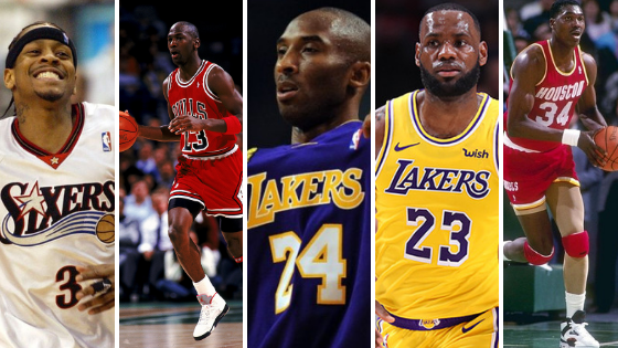 DunkStories NBA All-Time Starting Five
